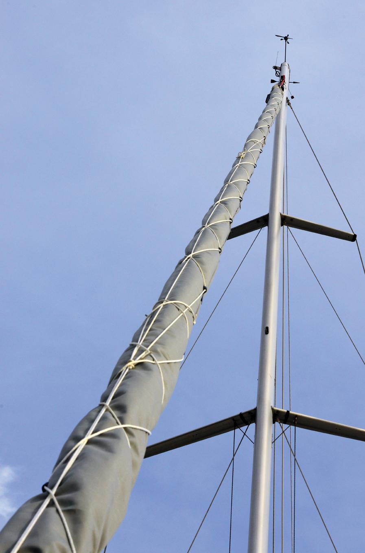 Copertura vela di prua L lungh. 14 metri